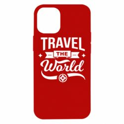 Чехол для iPhone 12 mini Travel the world and compass