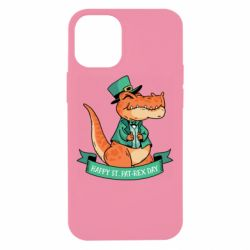 Чехол для iPhone 12 mini Trex patrick day