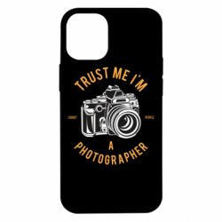 Чохол для iPhone 12 mini Trust me i'm photographer