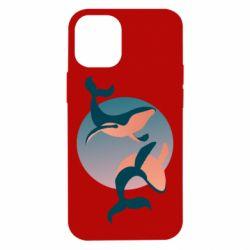 Чехол для iPhone 12 mini Two whales