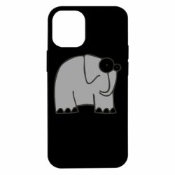 Чехол для iPhone 12 mini удивленный слон