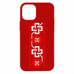 Чохол для iPhone 12 mini Украіінський орнамент