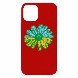 Чехол для iPhone 12 mini Українська квітка