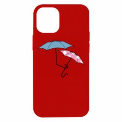 Чехол для iPhone 12 mini Umbrella love Color