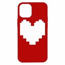 Чохол для iPhone 12 mini Undertale heart
