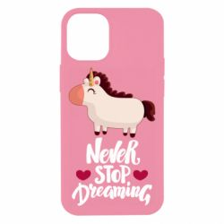Чехол для iPhone 12 mini Unicorn and dreams