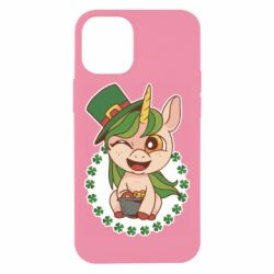 Чехол для iPhone 12 mini Unicorn patrick day