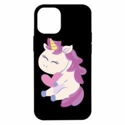 Чехол для iPhone 12 mini Unicorn with love