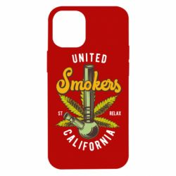 Чохол для iPhone 12 mini United smokers st relax California