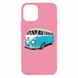 Чехол для iPhone 12 mini Vector Volkswagen Bus