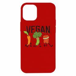 Чохол для iPhone 12 mini Веган овочі
