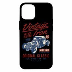 Чохол для iPhone 12 mini Vintage iron 1986
