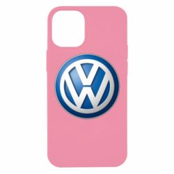 Чехол для iPhone 12 mini Volkswagen 3D Logo