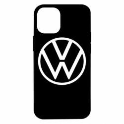 Чехол для iPhone 12 mini Volkswagen new logo