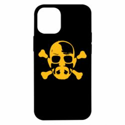 Чохол для iPhone 12 mini walter white і кістки