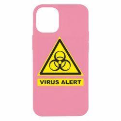 Чохол для iPhone 12 mini Warning Virus alers