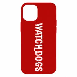 Чехол для iPhone 12 mini Watch Dogs text