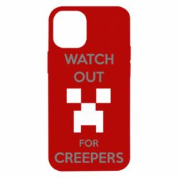 Чехол для iPhone 12 mini Watch Out For Creepers
