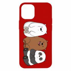 Чехол для iPhone 12 mini We are ordinary bears
