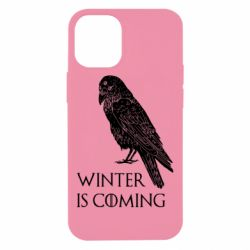 Чохол для iPhone 12 mini Winter is approaching and crow