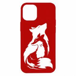 Чехол для iPhone 12 mini Wolf And Fox