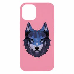 Чохол для iPhone 12 mini Wolf geometric