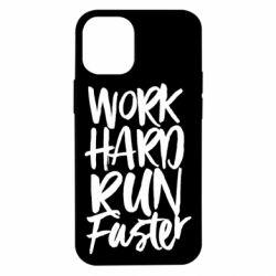 Чохол для iPhone 12 mini Work hard run faster