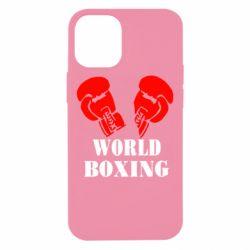 Чехол для iPhone 12 mini World Boxing