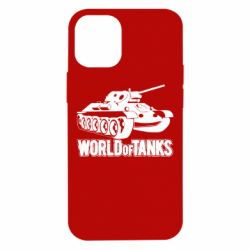 Чехол для iPhone 12 mini World Of Tanks Game