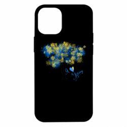 Чохол для iPhone 12 mini Я люблю Україну і дерево