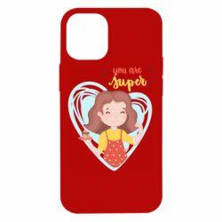 Чохол для iPhone 12 mini You are super girl