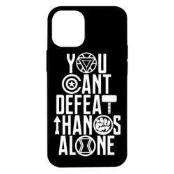 Чехол для iPhone 12 mini You can't defeat thanos alone
