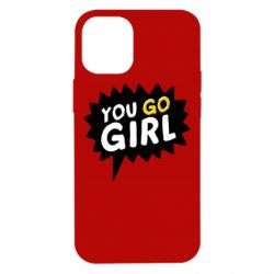 Чехол для iPhone 12 mini You go girl