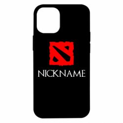 Чохол для iPhone 12 mini Your nickname Dota2