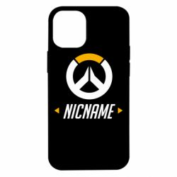 Чехол для iPhone 12 mini Your Nickname Overwatch