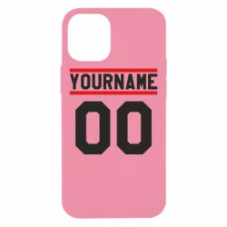 Чохол для iPhone 12 mini Yourname USA