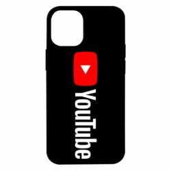 Чехол для iPhone 12 mini Youtube logotype