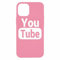 Чохол для iPhone 12 mini Youtube vertical logo