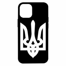 Чехол для iPhone 12 mini Жирный Герб Украины
