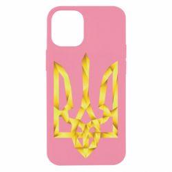 Чехол для iPhone 12 mini Золотий герб