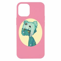 Чохол для iPhone 12 mini Zombie girl with beetles