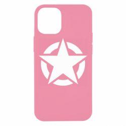 Чохол для iPhone 12 mini Зірка Капітана Америки