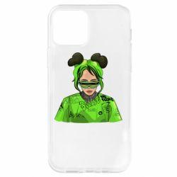 Чохол для iPhone 12 Pro Billie Eilish green style