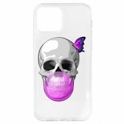 Чохол для iPhone 12 Pro Butterfly on the skull