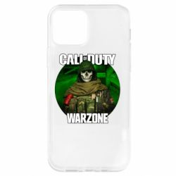 Чохол для iPhone 12 Pro Call of duty Warzone ghost green background