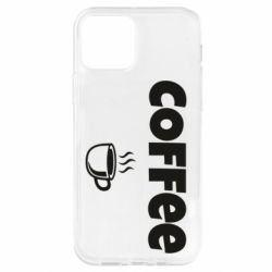 Чохол для iPhone 12 Pro COFFEE and Small Cup