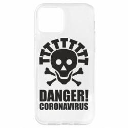 Чохол для iPhone 12 Pro Danger coronavirus!