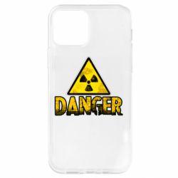 Чохол для iPhone 12 Pro Danger icon