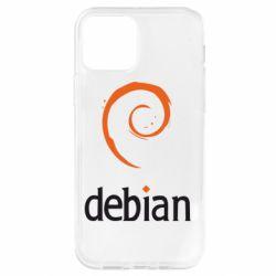 Чехол для iPhone 12 Pro Debian