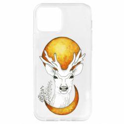 Чохол для iPhone 12 Pro Deer and moon